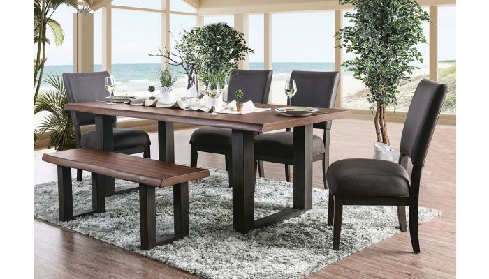Pinole Contemporary Dining Table Set