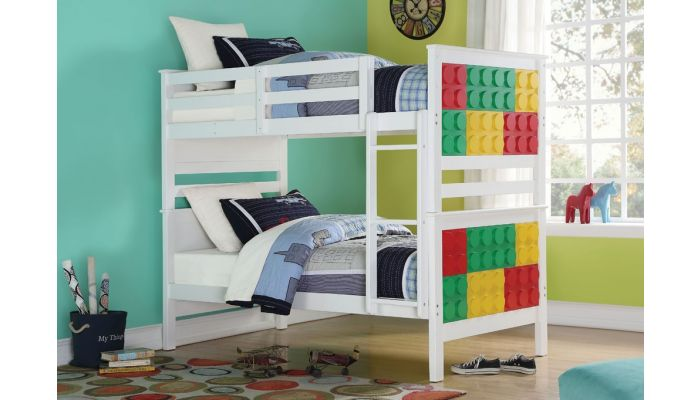Playtime Twin Over Twin Bunk Bed