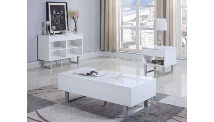 Randi Modern Storage Coffee Table