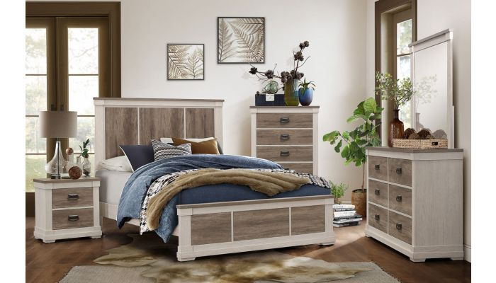 Regency Rustic Finish Bed