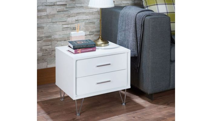 Reiby White Night Stand