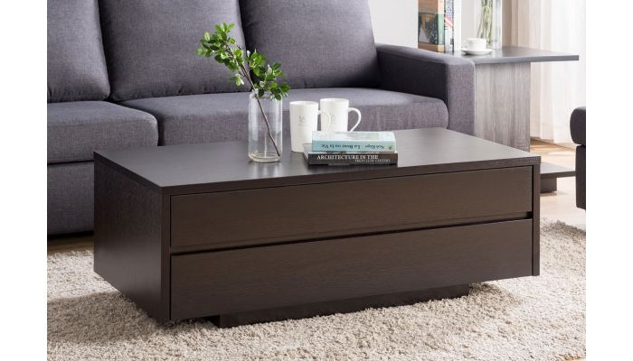 Rino Coffee Table With Drawers