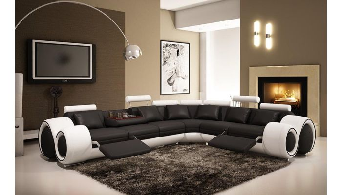 Rodeo Modern Sectional Recliner,Rodeo Sectional Dimentions