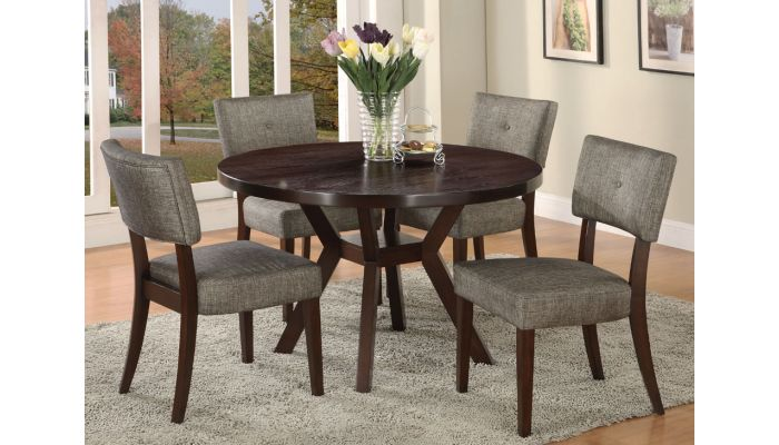 Rolesville Round Dining Table Set