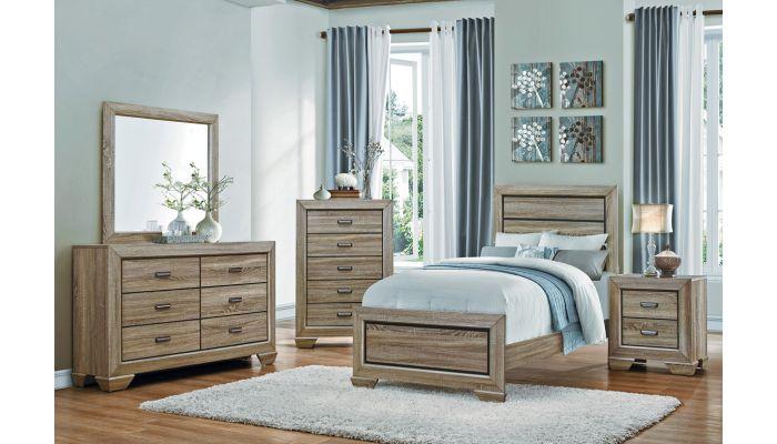 Rollan Rustic Finish Youth Furniture