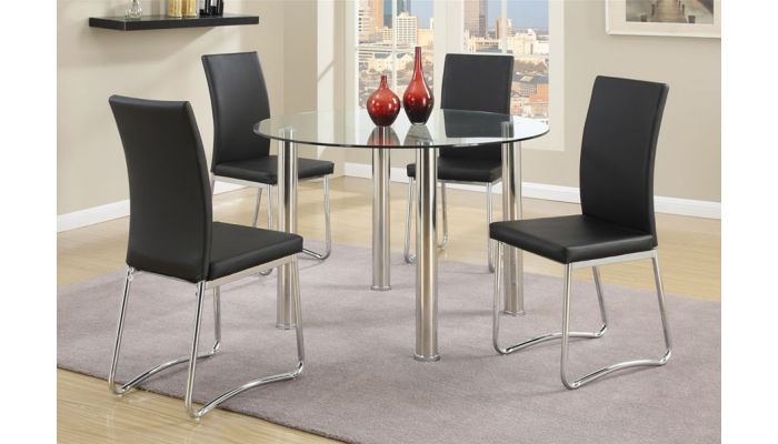Rosa Round Dining Table With Chairs