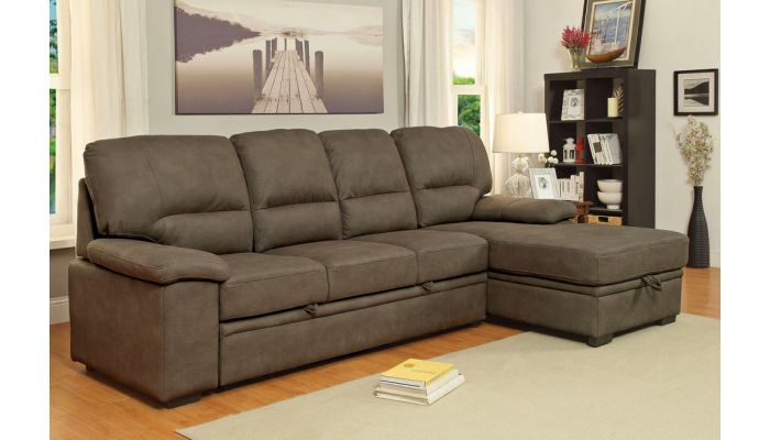 Rupard Sectional Sleeper With Storage