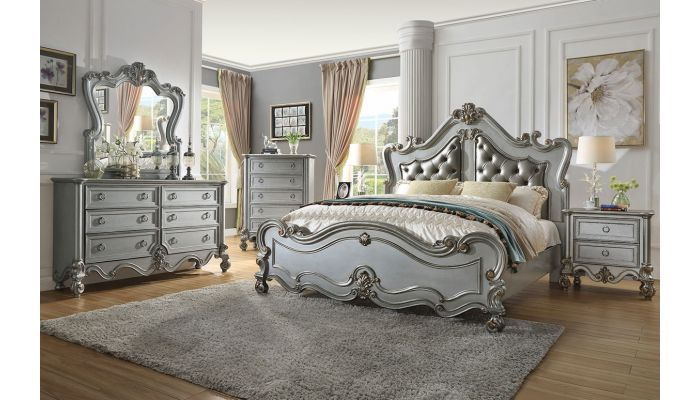 Russian Hill Traditional Bed Collection