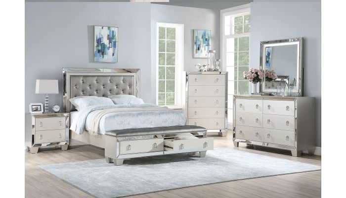 Sara Bed With Drawers
