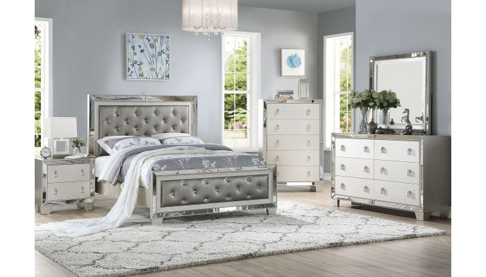 Sara Mirrored Bedroom Furniture