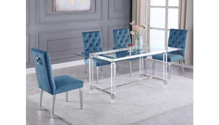 Sarey Acrylic Dining Table