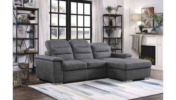 Senor Sleeper Sectional With Storage
