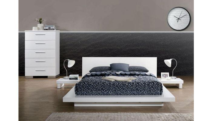 Shiro Panel Low Profile Bed