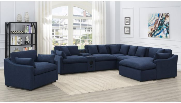 Siena Power Recliner Sectional