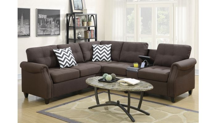 Stacy Sectional With Console