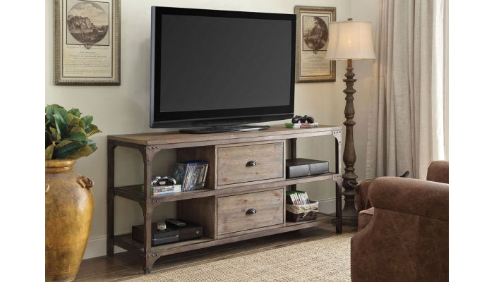 Stevens Industrial Style TV Stand