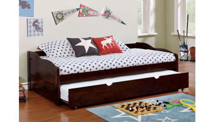 Bowiea Espresso Finish Day Bed