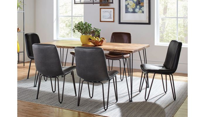 Thunder Modern Rustic Dining Table