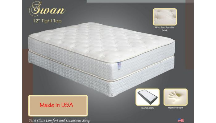 Swan Tight Top Memory Foam Mattress