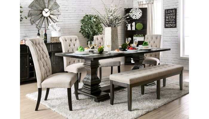 Timon Formal Dining Room Table Set