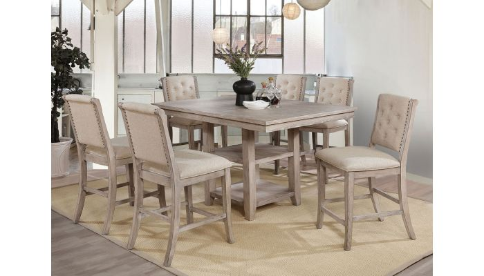 Tina Counter Height Table With Chairs