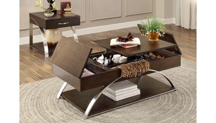 Tioga Lift Top Storage Coffee Table