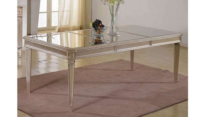 Townsend Mirrored Top Dining Table