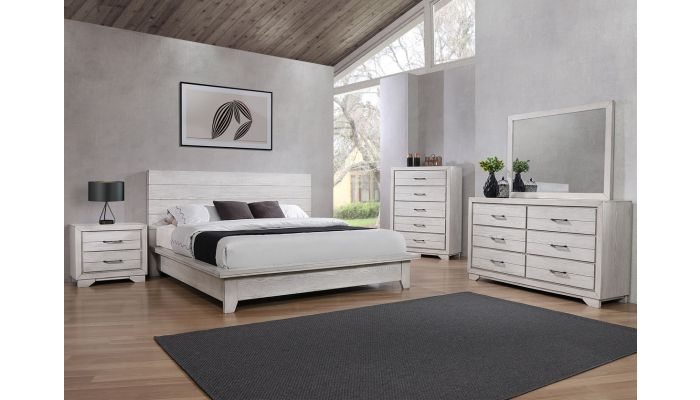 Travell Rustic Finish Bedroom Furniture