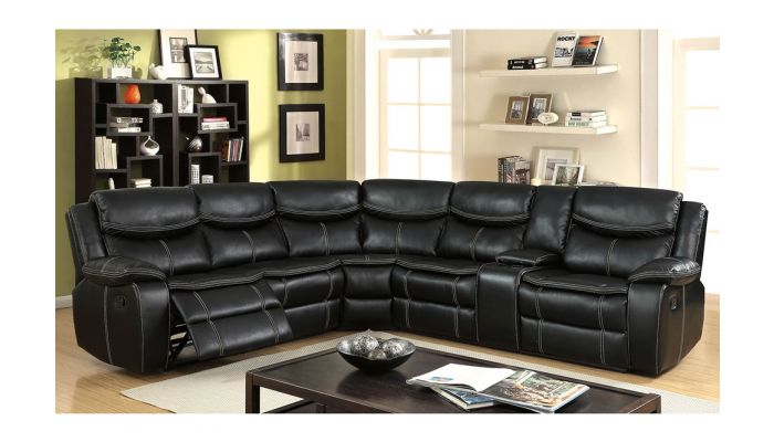 Tyler Recliner Sectional With Console