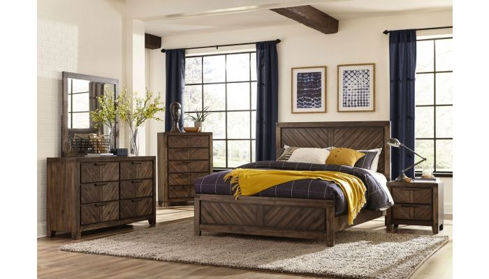 Vandenberg Transitional Style Bed