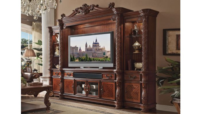 Vendome Wall Unit Entertainment Center