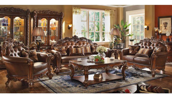 Vendome Classic Leather Sofa Collection