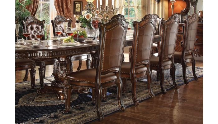 Vendome Formal Dining Room Table Set, Vendome Dining Room Set