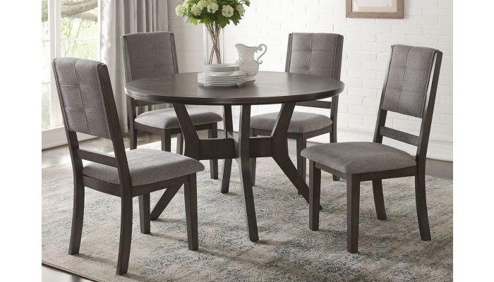 Veneta Round Dining Table Set