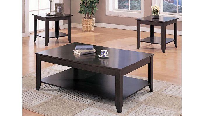 Verona 3-Piece Coffee Table Set