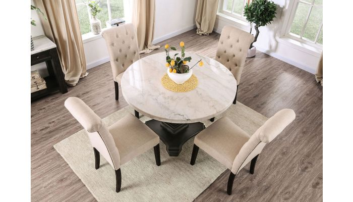 Round Marble Table With Chairs Off 52, Round Marble Dining Table And Chairs