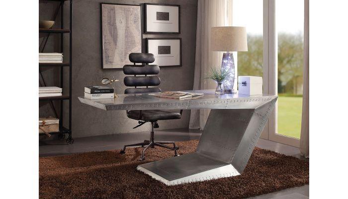 Vincent Aluminum Home Office Executive Desk