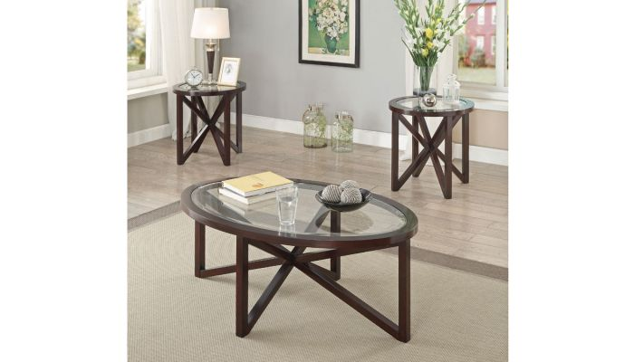 Viola Contemporary Style Coffee Table Set