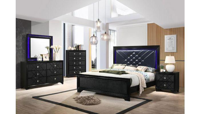 Vista Bed With LED Lights