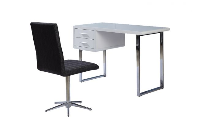 Bryce Lacquer Finish Office Desk