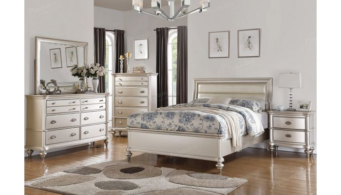 Willow Elegant Style Bedroom Collection