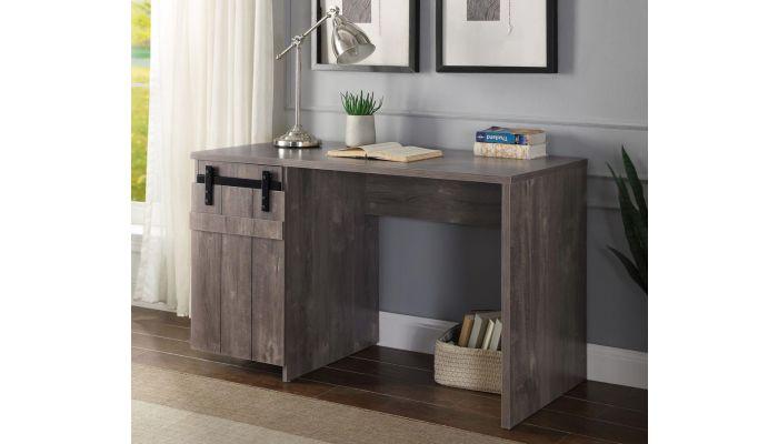 Wilson Desk With Barn Door