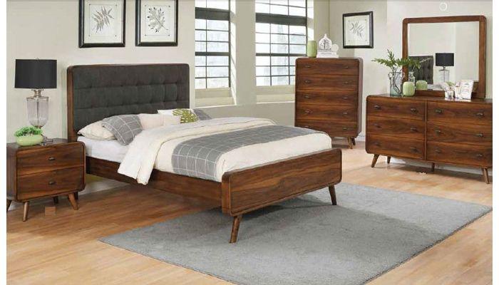 Zaira Mid Century Modern Bedroom Furniture