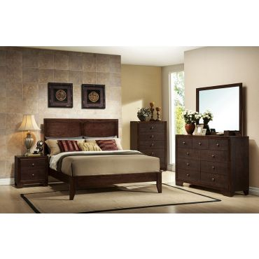 Madison Contemporary Style Bed