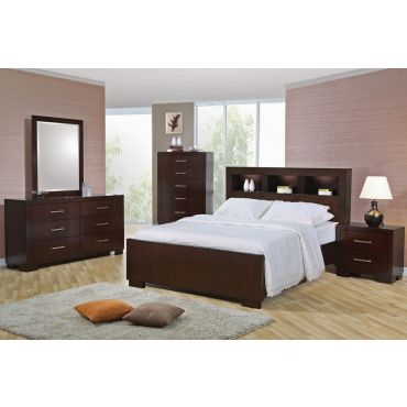 Jessica Bed With Storage Headboard