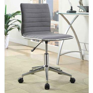 Hudson Grey Fabric Office Chair