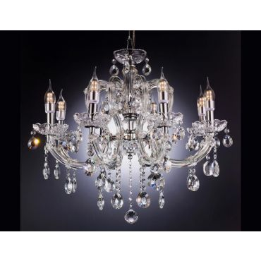 Classic Chandelier 8 Candle Light