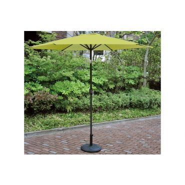 9' Patio Umbrella With Cast Iron Base