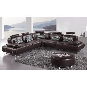Valkiria Modular Leather Sectional