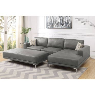 Akara Grey Modern Sectional